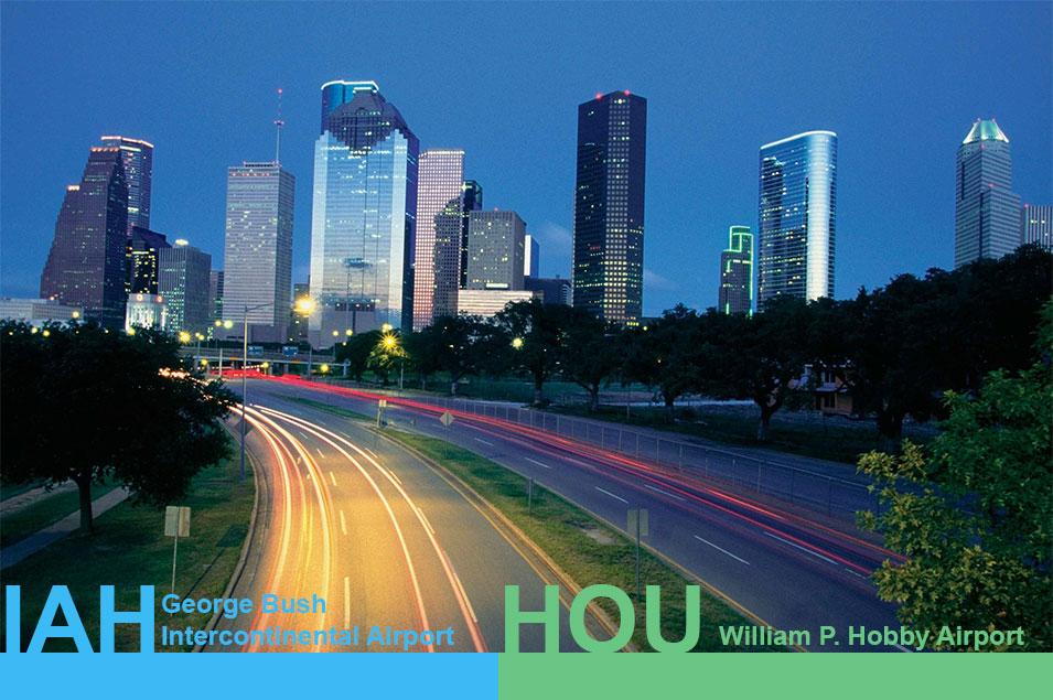 Houston airport transportation